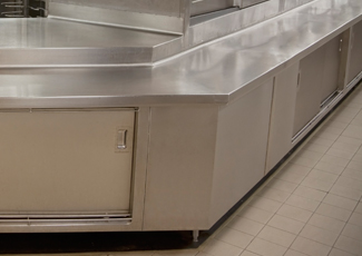 Stainless Steel Cabinets - Bar Countertops Toledo, OH