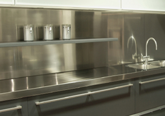 Stainless Steel Countertops - Toledo, OH Stainless Steel Bench
