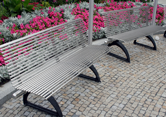 Stainless Steel Benches - Toledo, OH Stainless Steel Bench